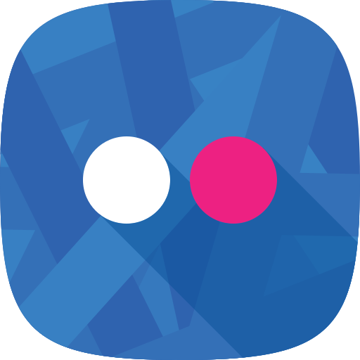 flickr, images, social network icon