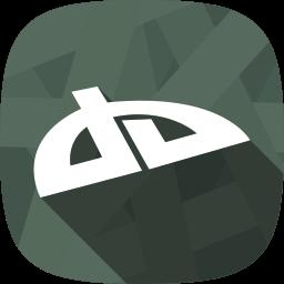 devianart, images, portfolio, social network icon