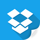 dropbox, internet, package, shopping, social, storage icon