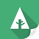 document, eco, forrst, green, greenery, leaves, plant icon