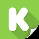 kickstarter, people, profile, social, socialpack, ubercons icon