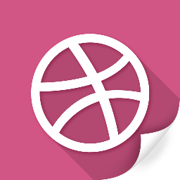 circle, connection, dribbble, flag, network, social, sports icon