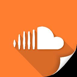 audio, cloud, communication, media, soundcloud icon