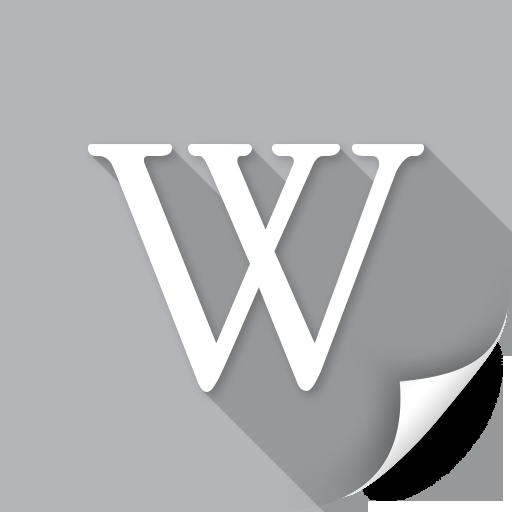 creative, media, network, news, read, sound, wikipedia icon