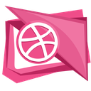 ball, dribbble, dribble, media, social icon