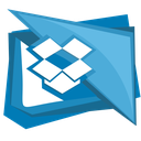 box, cloud, dropbox, folder, social icon