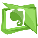elephant, evernote, media, note, social icon