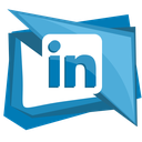 in, linked, linkedin, network, social icon