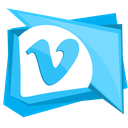 media, network, social, video, vimeo icon