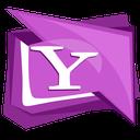 buzz, logo, messenger, social, yahoo icon
