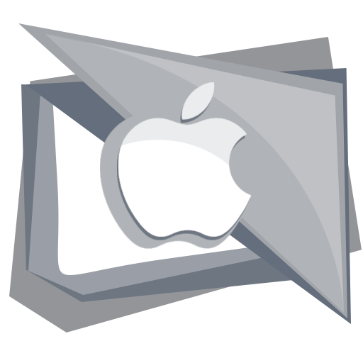 apple, computer, device, fruit, mobile icon