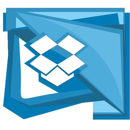 box, cloud, dropbox, folder, social icon