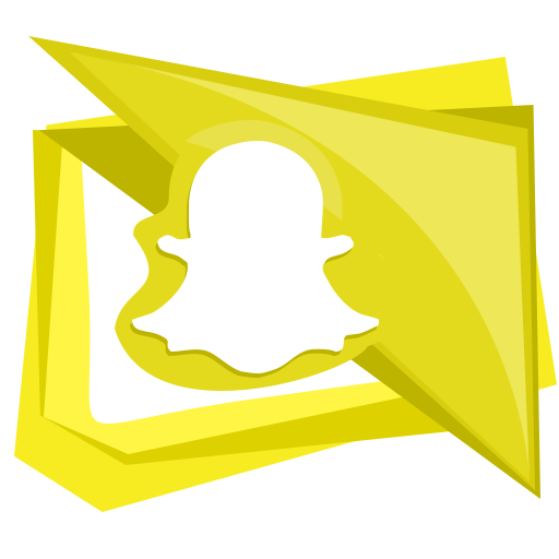 mobile, snap, snapchat, social, technology icon