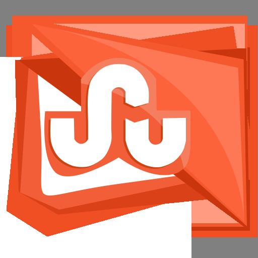 media, social, square, stumble, stumbleupon icon