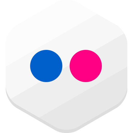 flickr, photos, social network icon