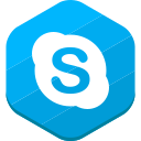 social network, skype icon