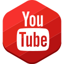 you tube, social network icon