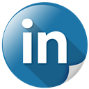 communication, connection, internet, linkedin, network icon