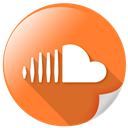 soundcloud, logo, online, square