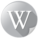 mirror, wiki, wikipedia icon