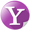 communication, search, web, yahoo, zoom icon