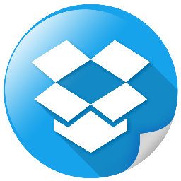 dropbox, internet, package, social, storage icon
