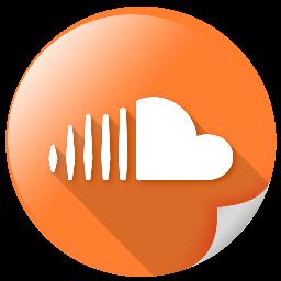 big, logo, online, soundcloud, square icon