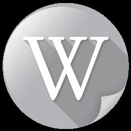 mirror, wiki, wikipedia icon