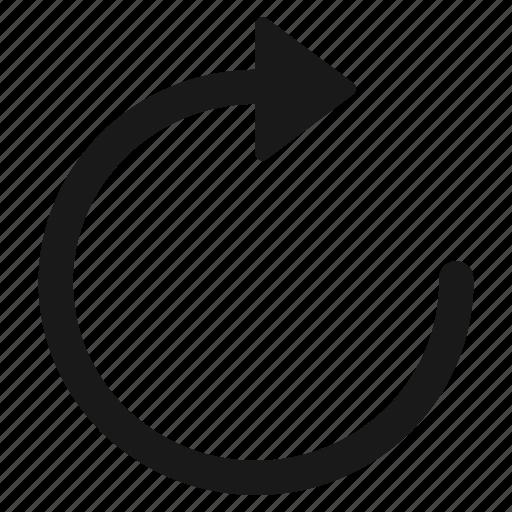 data, refill, refresh, reload, restore, rotate icon
