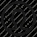 account, avatar, contact, male, portrait, profile icon