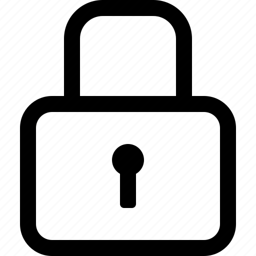 lock, locked, password, privacy, protected, safe, secure, security icon