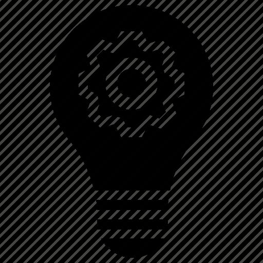 creative process, idea development, idea generation, idea management, solution icon