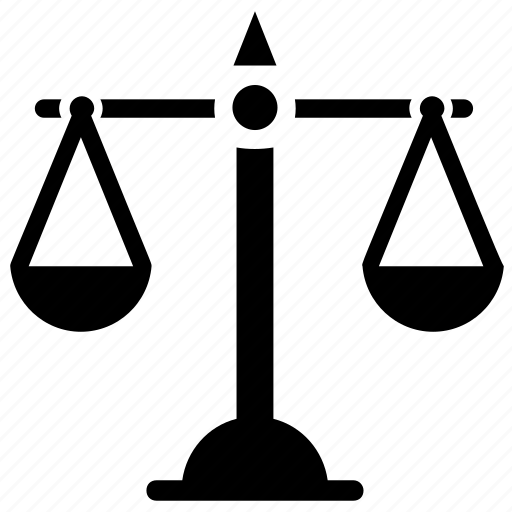 balance, justice, libra, measuring instrument, weight scale icon