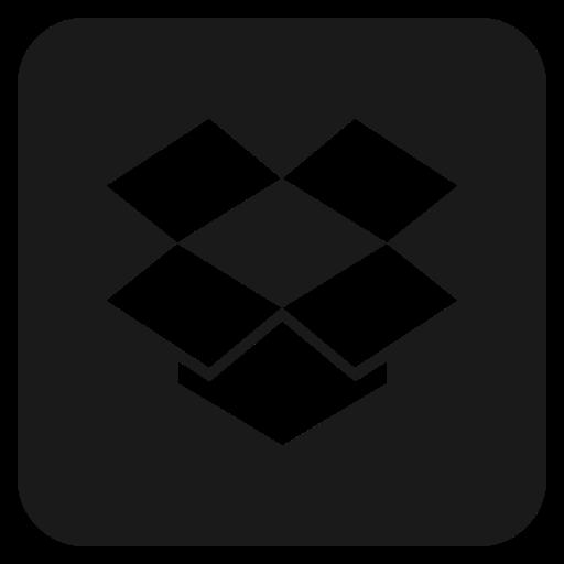 dropbox, media, social icon
