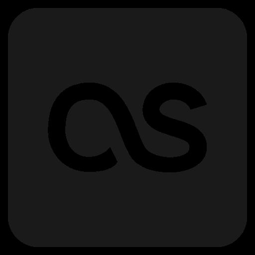 fm, last, logo, media, social icon