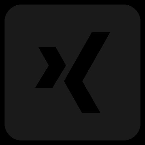 Design, logo, media, social, xing icon - Free download