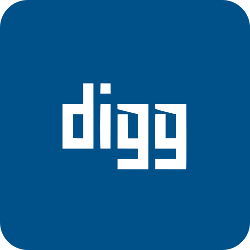 communication, connection, digg, internet, message, network icon