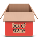 box, red, soda icon