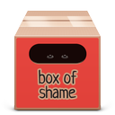 box, full, red, soda icon