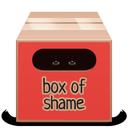 soda, red, box, full