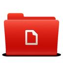 new, folder, docs, red, soda