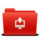 downloads, folder, new, red, soda