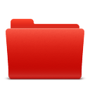 folder, new, red, soda icon