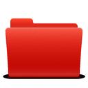 new, folder, red, soda
