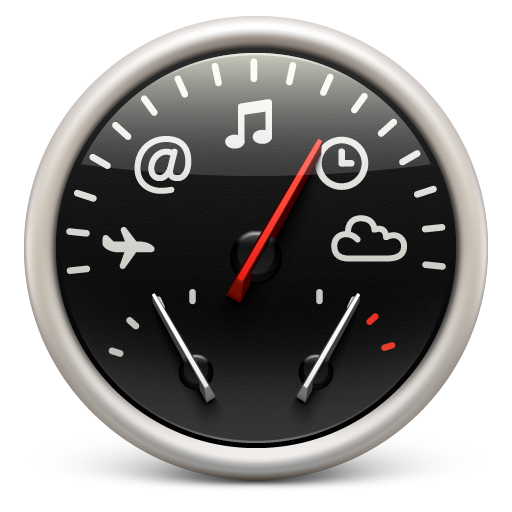 dashboard, red, soda icon