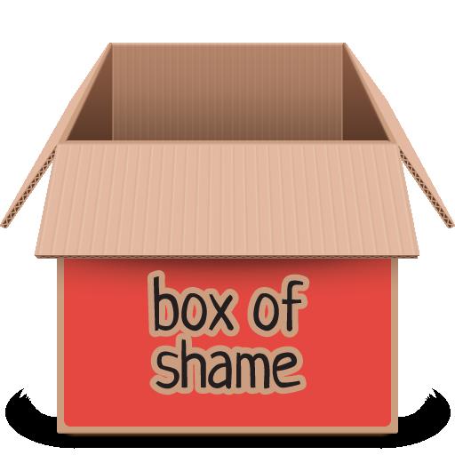 box, red, soda icon