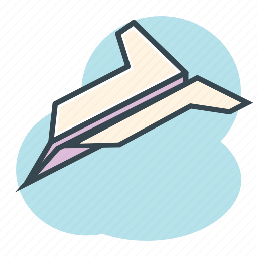 airplane, avion, children, fly, papel, paper, plane icon