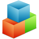 blocks, boxes, modules, organize icon