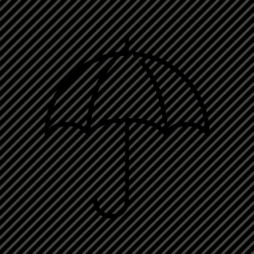 climate, meteorology, rain, rainy, umbrella, weather icon