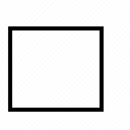 box, check, ok, unchecked icon